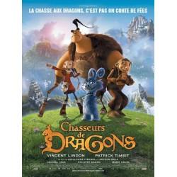 affiche film Chasseurs de dragons (de Guillaume Ivernel & Arthur Qwak)