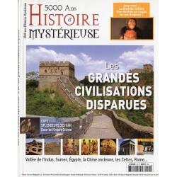 5000 ans d'histoire mystérieuse n° 24 - Les Grandes Civilisations disparues