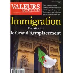 Valeurs Actuelles n° 4072 - Immigration, Enquête sur le Grand Remplacement