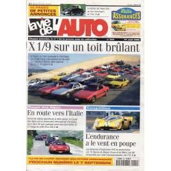 La Vie de l'Auto n° 949 du 31/08/2000 - X 1/9 sur un toit brûlant