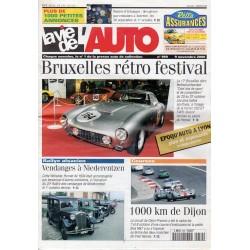 La Vie de l'Auto n° 959 du 09/11/2000 - Bruxelles rétro festival