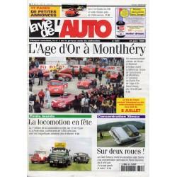La Vie de l'Auto n° 897 du 24/06/1999 - L'Age d'Or à Montlhéry