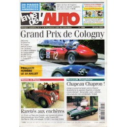 La Vie de l'Auto n° 1086 du 26/06/2003 - Grand Prix de Cologny