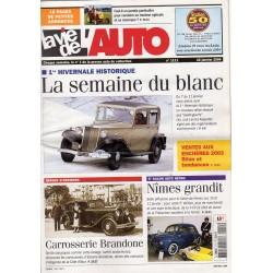 La Vie de l'Auto n° 1111 du 22/01/2004 - La semaine du blanc