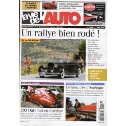 La Vie de l'Auto n° 1184 du 11 août 2005 - 23e Alpes Rétro : Un rallye bien rodé !