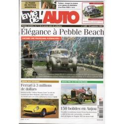 La Vie de l'Auto n° 1188 du 15 septembre 2005 - Élégance à Pebble Beach