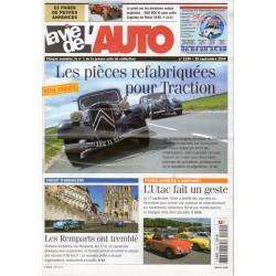 La Vie de l'Auto n° 1190 du 29 septembre 2005 - Les pièces refabriquées pour Traction