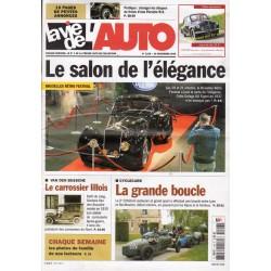 La Vie de l'Auto n° 1196 du 10 novembre 2005 - Bruxelles Rétro Festival : Le salon de l'élégance