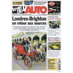 La Vie de l'Auto n° 1246 du 30 novembre 2006 - Londres-Brighton : un retour aux sources