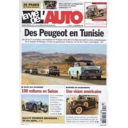 La Vie de l'Auto n° 1248 du 14 décembre 2006 - Des Peugeot en Tunisie