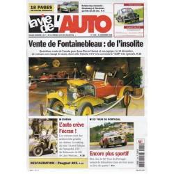 La Vie de l'Auto n° 1249 du 21 décembre 2006 - Vente de Fontainebleau : de l'insolite