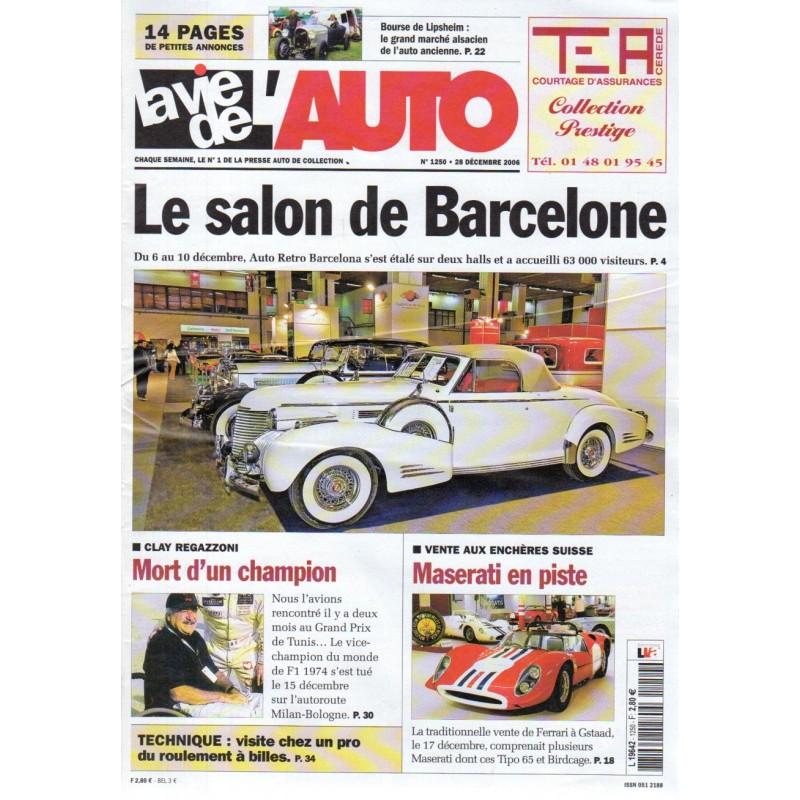 La Vie de l'Auto n° 1250 du 28 décembre 2006 - Le Salon de Barcelone