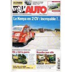 La Vie de l'Auto n° 1255 du 1er février 2007 - Le Kenya en 2CV : incroyable !