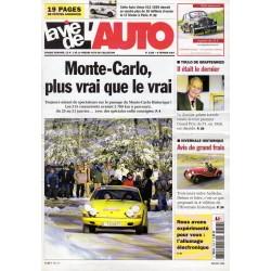 La Vie de l'Auto n° 1256 du 8 février 2007 - Monte-Carlo, plus vrai que le vrai !