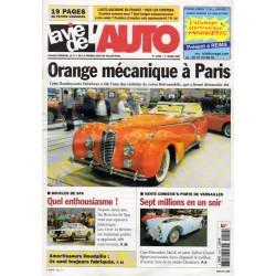 La Vie de l'Auto n° 1259 du 1er mars 2007 - Orange mécanique à Paris