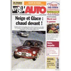 La Vie de l'Auto n° 1260 du 8 mars 2007 - Rallye Neige et Glace : chaud devant !