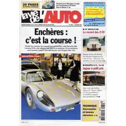 La Vie de l'Auto n° 1261 du 15 mars 2007 - Enchères : c'est la course !