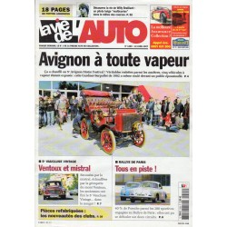 La Vie de l'Auto n° 1265 du 12 avril 2007 - 5° Avignon Motor Festival : Avignon à toute vapeur