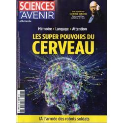 Sciences et Avenir n° 896 - Les supers pouvoirs du CERVEAU, Mémoire, Langage, Attention