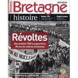 Bretagne magazine n° 2 H - Révoltes, des années 1930 à aujourd'hui, 80 ans de colères bretonnes