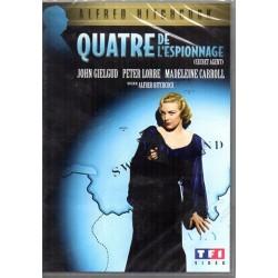 Quatre de l'espionnage (d'Alfred Hitchcock) - DVD Zone 2