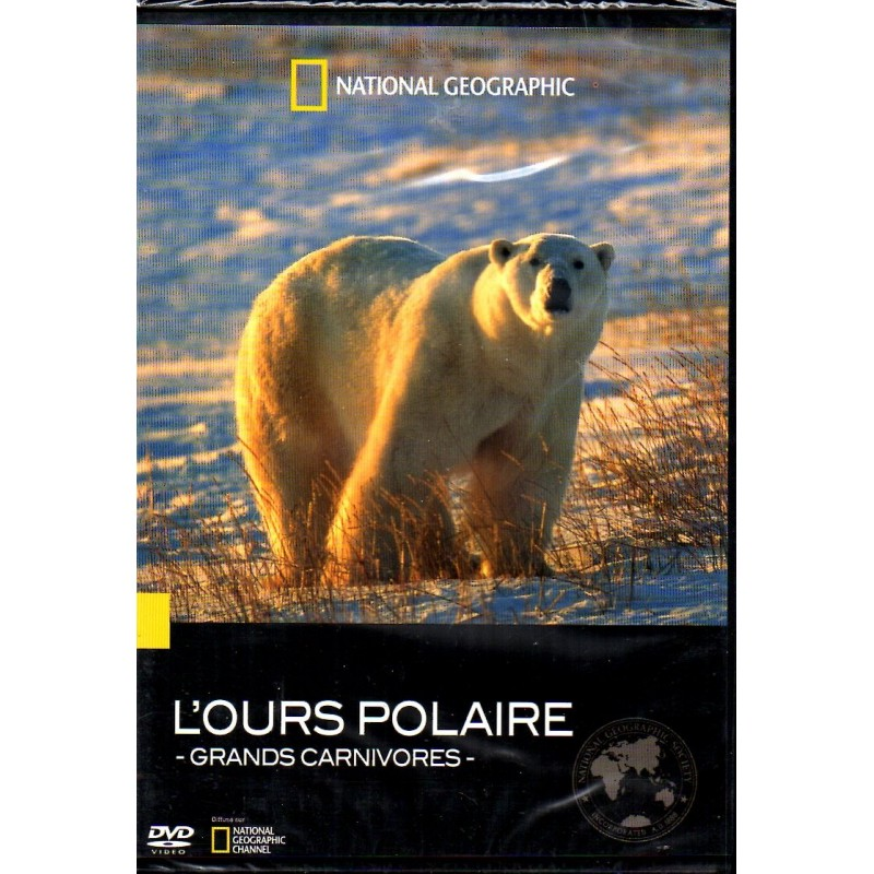 Grands carnivores : l'ours polaire - National Geographic - DVD Zone 2