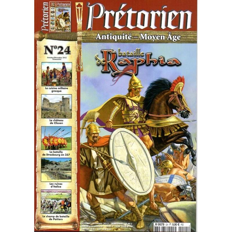 Prétorien n° 24 - La Bataille de Raphia