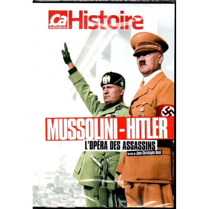 Mussolini - Hitler, L'opéra des assassins - DVD Zone 2
