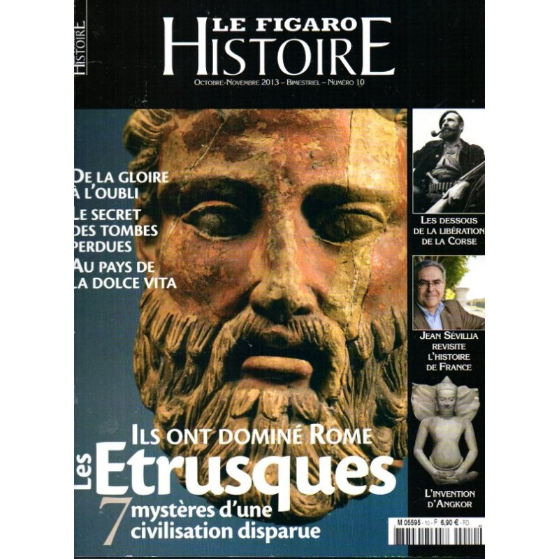 Figaro Histoire n° 10 - Les Etrusques :  Ils ont dominé Rome