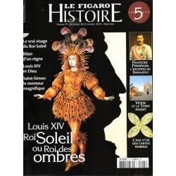Figaro Histoire n° 5 - Louis  XIV, Roi Soleil ou Roi des Ombres
