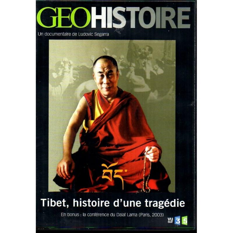 Tibet, histoire d'une tragédie - DVD Zone 2