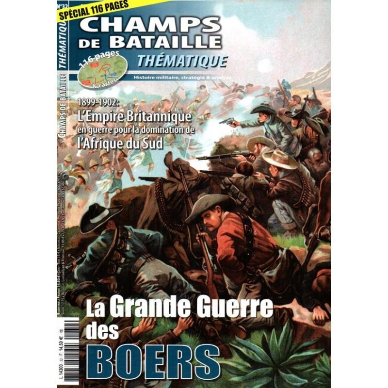 Champs de Bataille n° 32 - La Grande Guerre des BOERS