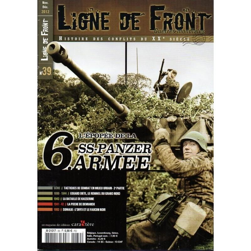 Ligne de Front n° 39 - L'épopée de la 6.SS-Panzer-Armée (partie1)