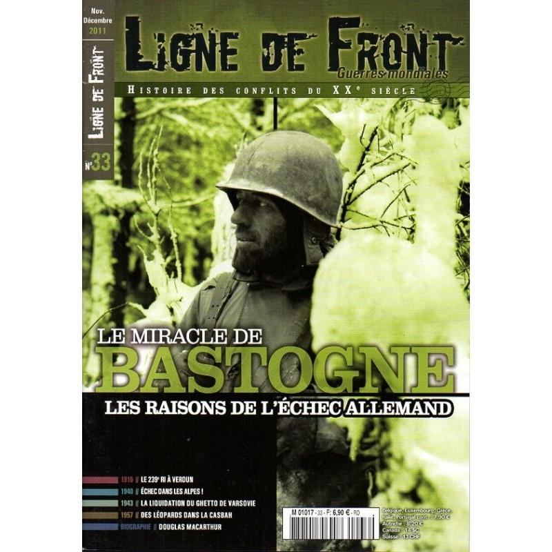 Ligne de Front n° 33 - Le miracle de BASTOGNE, les raisons de l'échec allemand