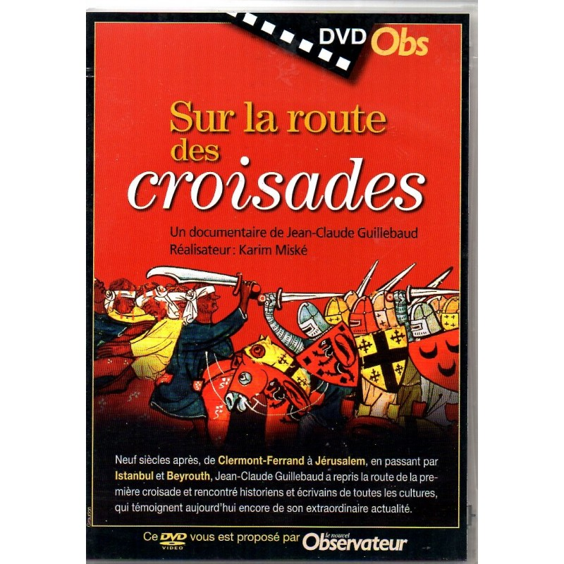 Sur la Route des Croisades (de Jean-Claude Guillebaud) - DVD Zone 2