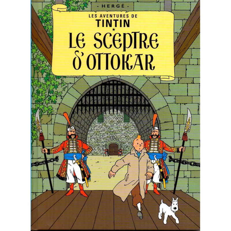 Le Sceptre d'Ottokar ( Tintin ) - Bande dessinée de Hergé