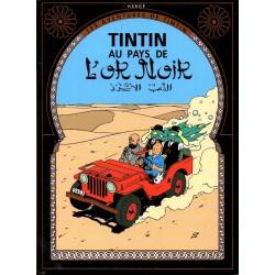 Tintin au Pays de l'Or Noir ( Tintin ) - Bande dessinée de Hergé + DVD