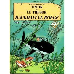 Le Trésor de Rackham le Rouge ( Tintin ) - Bande dessinée de Hergé