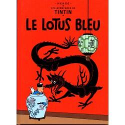 Le Lotus Bleu ( Tintin ) - Bande dessinée de Hergé