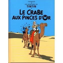 Le Crabe aux Pinces d'Or ( Tintin ) - Bande dessinée de Hergé + DVD