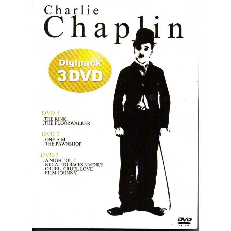 Charlie Chaplin - Digipack 3 DVD - DVD Zone 2