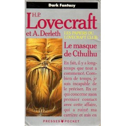 Le Masque de Cthulhu - H.P. Lovecraft & A. Derleth - (Fantasy)