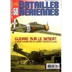 Batailles Aériennes n° 58 - Guerre sur le Désert 1940-1943