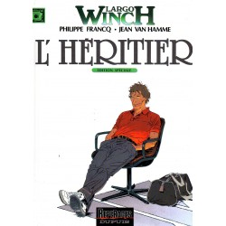 L'Héritier (Largo Winch) - Bande dessinée de Francq & Van Hamme