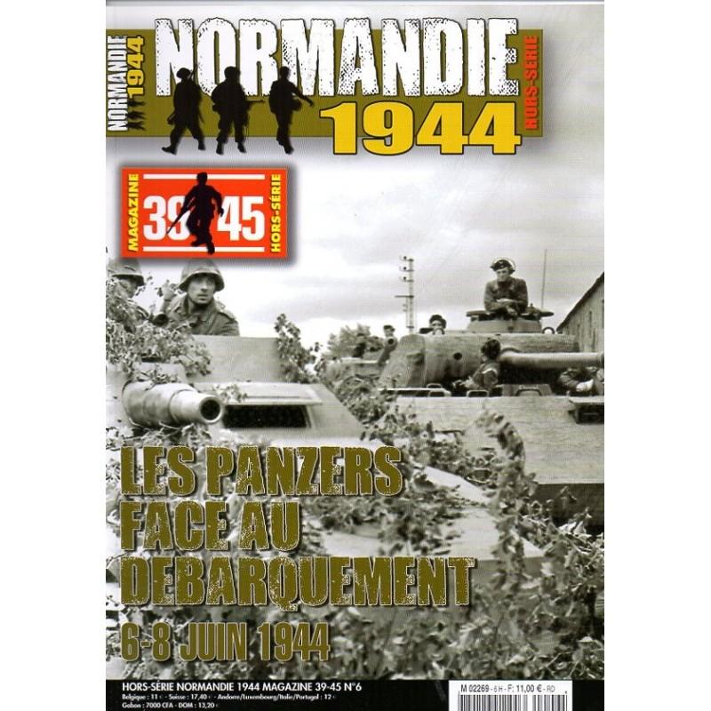 Normandie 1944 n° 6H - Les Panzers face au débarquement, 6-8 juin 1944