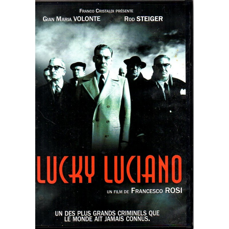 Lucky Luciano (Gian Maria Volonte & Rod Steiger) - DVD Zone 2