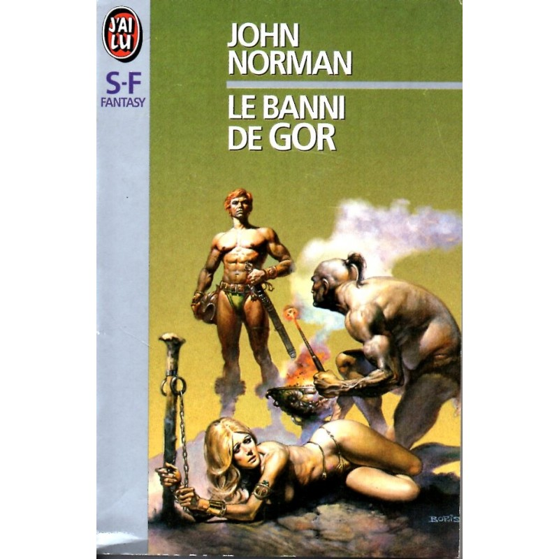 Le Banni de Gor - John Norman - (Science Fiction)