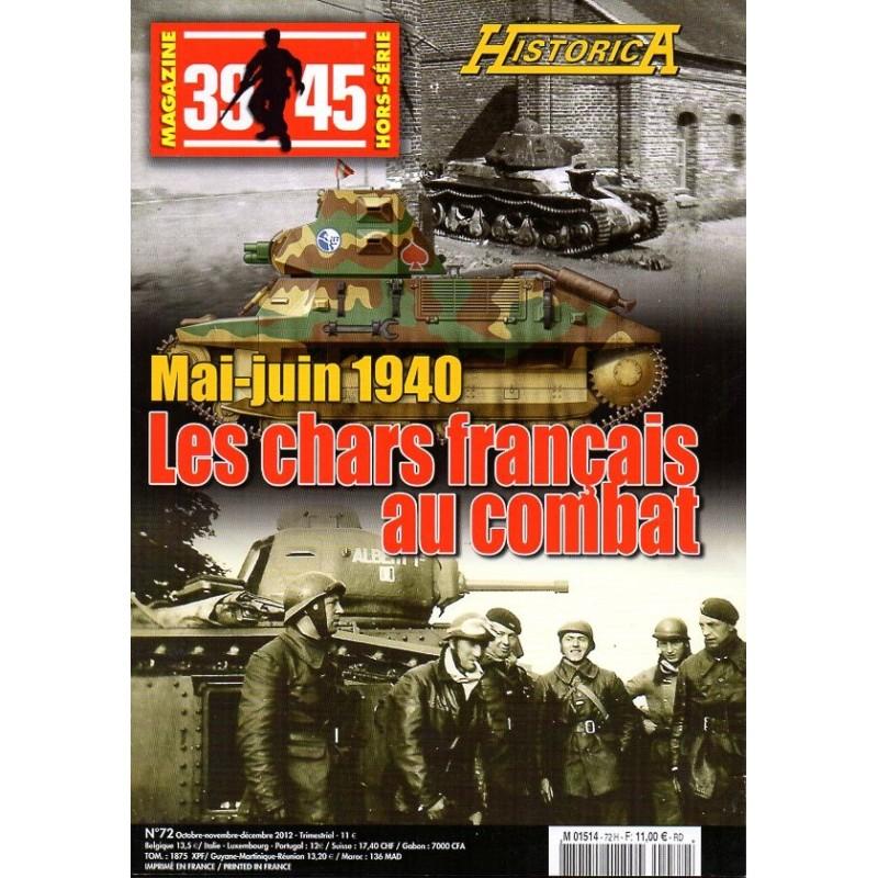 Magazine 39-45 n° 72H - Les Chars Français au combat, Mai-juin 1940
