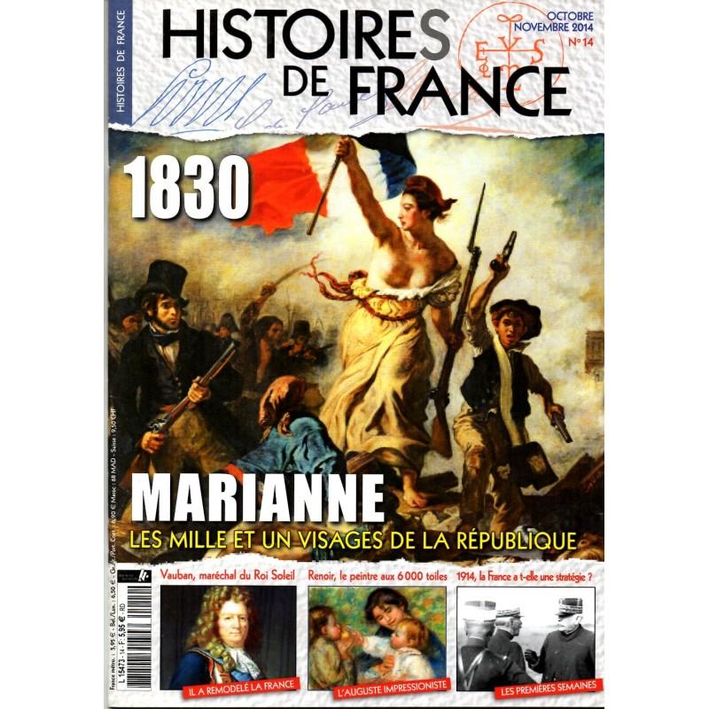 Histoires de France n° 14 - 1830, Marianne, les mille et un visages de la République