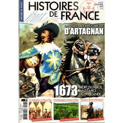 Histoires de France n° 7 - 1673 D'ARTAGNAN, la véritable histoire